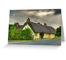 Thatched Country Cottage - Harome Greeting Card