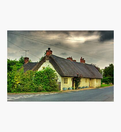 Thatched Country Cottage - Harome Photographic Print