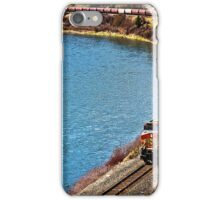 Hauling Grain along the River iPhone Case/Skin