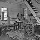 Wheelwright's Shop by hatterasjack