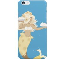 Dessert mermaid: Banana Cream Pie iPhone Case/Skin