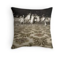 crystalline as in a dream. Throw Pillow