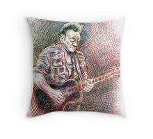 Springsteen Throw Pillow