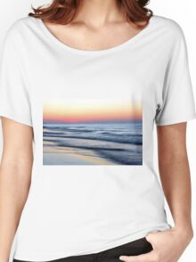 Soft Lapping Waves Women's Relaxed Fit T-Shirt