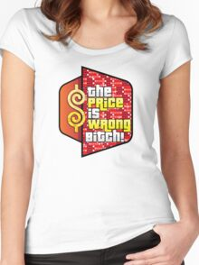 The Price is Wrong! Women's Fitted Scoop T-Shirt