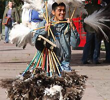 Feather Duster Seller by Shubie