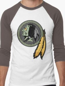 Undeadskins Men's Baseball ¾ T-Shirt