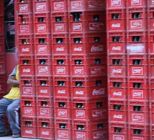 Coca Cola Crates by Shubie