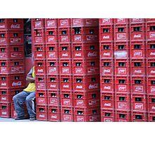 Coca Cola Crates Photographic Print
