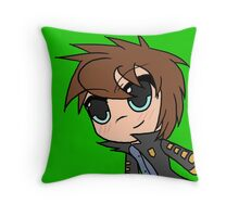 Say Hi to... Future Preston Throw Pillow
