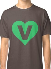 V for Vegetarian Classic T-Shirt