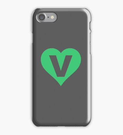 V for Vegetarian iPhone Case/Skin
