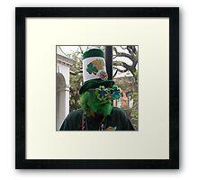 St Patricks Day Celebration Framed Print