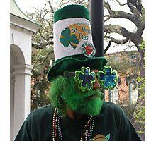 St Patricks Day Celebration Photographic Print