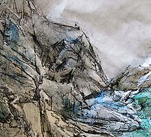 Rocky Cliffs by coppertrees