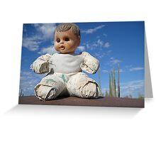 Catavina doll Greeting Card