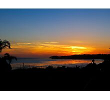 Malibu Sunset Photographic Print