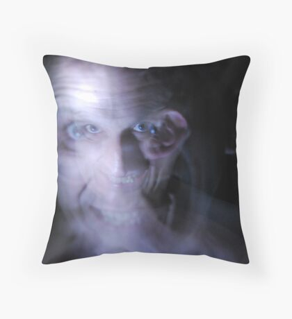 Ghostly appearnce mk3 Throw Pillow