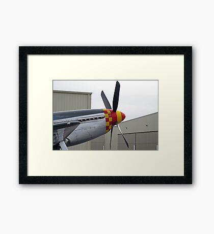 P51 Framed Print