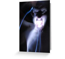 Ghostly appearance mk4 Greeting Card