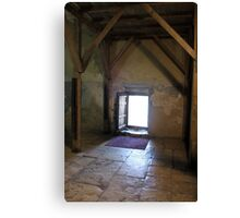 Humility Door at Nativity Church Canvas Print