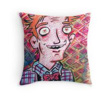 Jimmy Olson in Love Throw Pillow