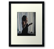 Cafe Mia Framed Print