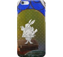 The White Rabbit before the Trial iPhone Case/Skin