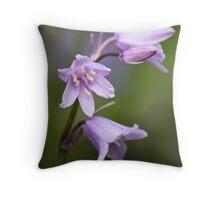 Pretty in Purple Throw Pillow