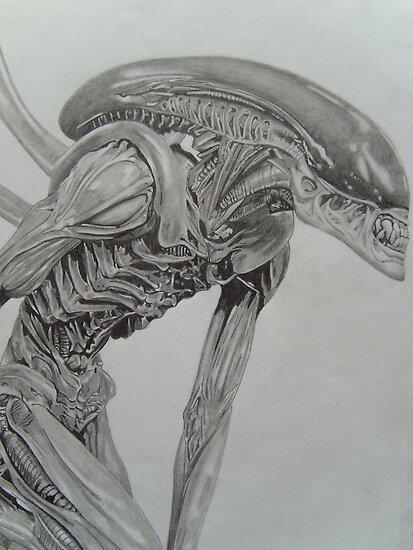 Alien Warrior by Courtney Pretlove