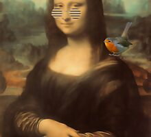 Mona Lisa & Friend by simpsonvisuals