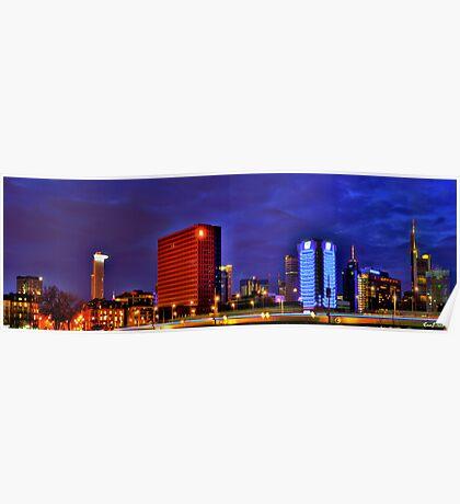 Frankfurt Panorama Poster