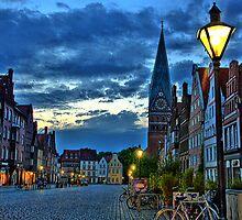 Lüneburg in the Morning by EroPicArt