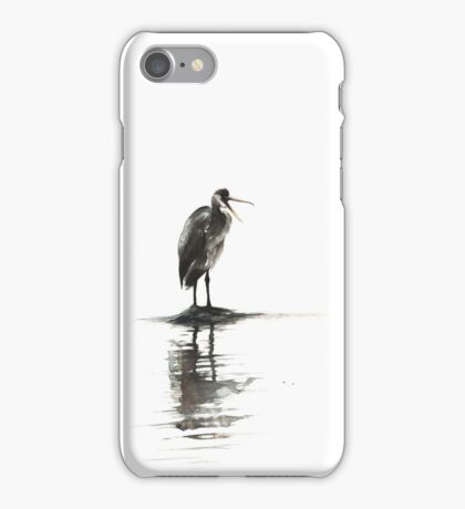 Heron Reflecting iPhone Case/Skin