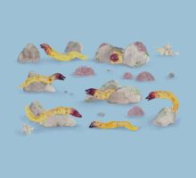White-eyed Moray Eels Kids Clothes