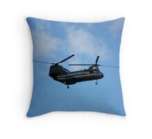 MarineCorpCopter Throw Pillow
