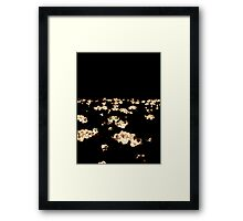 Flower Lights Framed Print