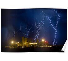 Budweiser Storm Poster