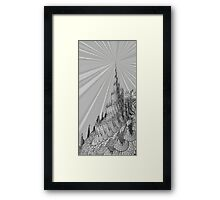 The Third Tower Framed Print