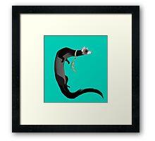 Ferret Business Framed Print