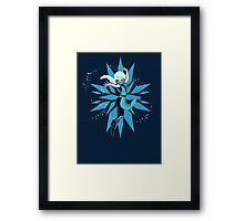 Frost Kombat!! Framed Print