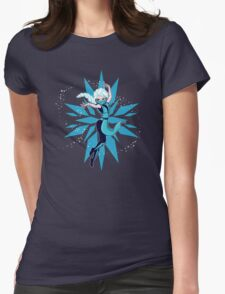Frost Kombat!! Womens Fitted T-Shirt