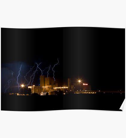Lightning Bud Poster