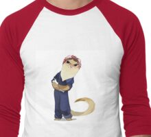 Ferret Tough Men's Baseball ¾ T-Shirt