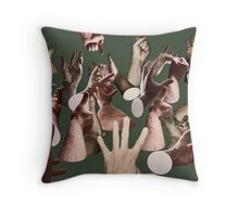 HAND SIGNALS Throw Pillow