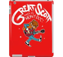 Great Scott iPad Case/Skin