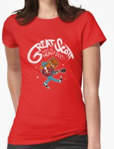 Great Scott Womens Fitted T-Shirt