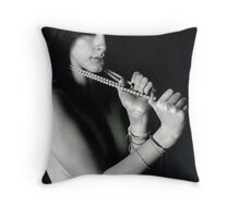 Medium Format Portrait Throw Pillow