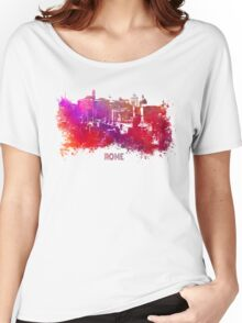 Rome skyline Women's Relaxed Fit T-Shirt