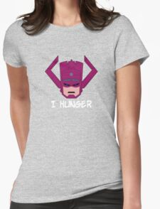 Galactus Hungers Womens Fitted T-Shirt